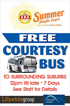 FREE COURTESY BUS