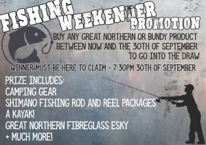 Fishing Weekender Promotion