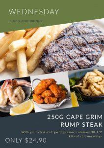 Wednesday Lunch Cape Grim Steak